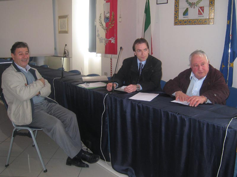 Marino Foglia, Massimo Vagnoni e Nino Corsi