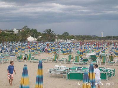 Una spiaggia sambenedettese