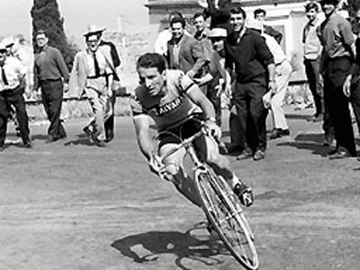 Il campione di ciclismo Vito Taccone