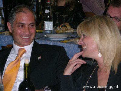 Tra Filippo Olivieri e Maria Grazia Concetti c'è stato anche il tempo dei sorrisi
