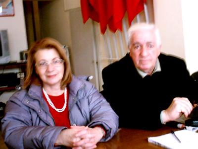 Elisa Braca e Antonio De Vincentiis