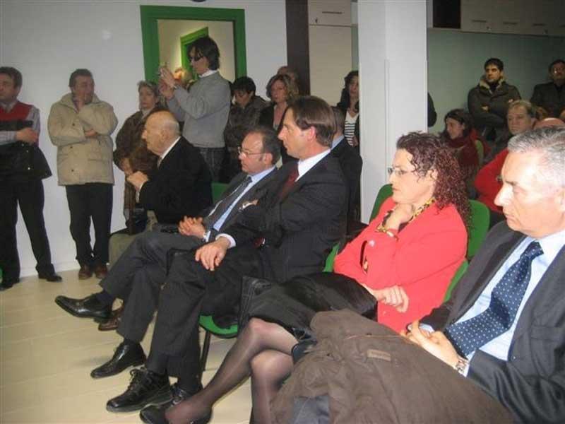 Il pubblico presente alla cerimonia