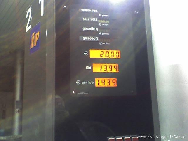 Con il Fai da te, la benzina verde costa 1,435 euro al litro