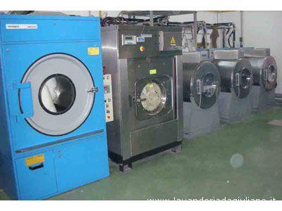 Una lavanderia industriale