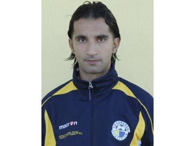 L'allenatore della Vis Carassai Sandro Silvestri