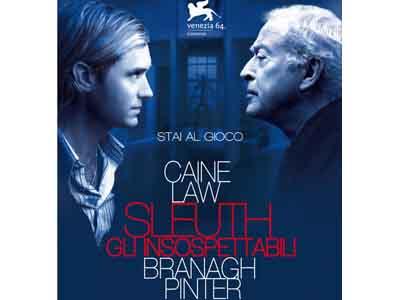 """""""Sleuth – Gli insospettabili"""", di Kenneth Branagh"""