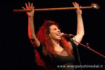 La cantante Teresa De Sio