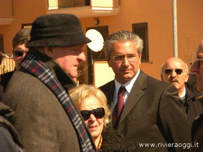 Anche Carlo Mazzone era presente ai funerali di Cesare Medori