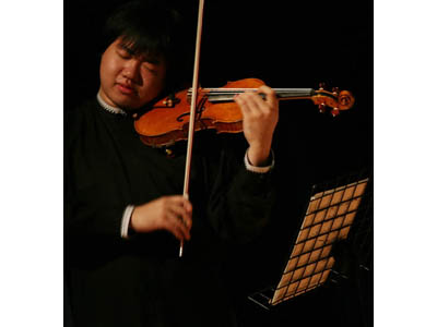 Il violinista cinese Feng Ning