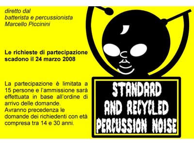 Standard and Recycled Percussion-Noise