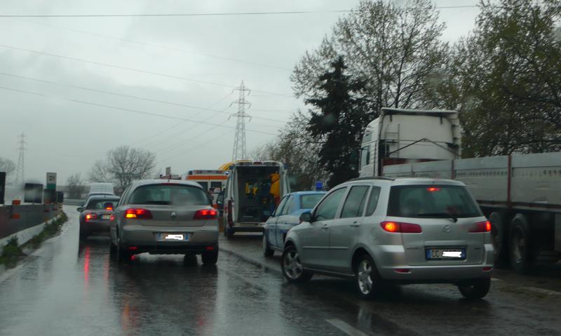 Incidente sull'Ascoli-Mare all'altezza di Monsampolo