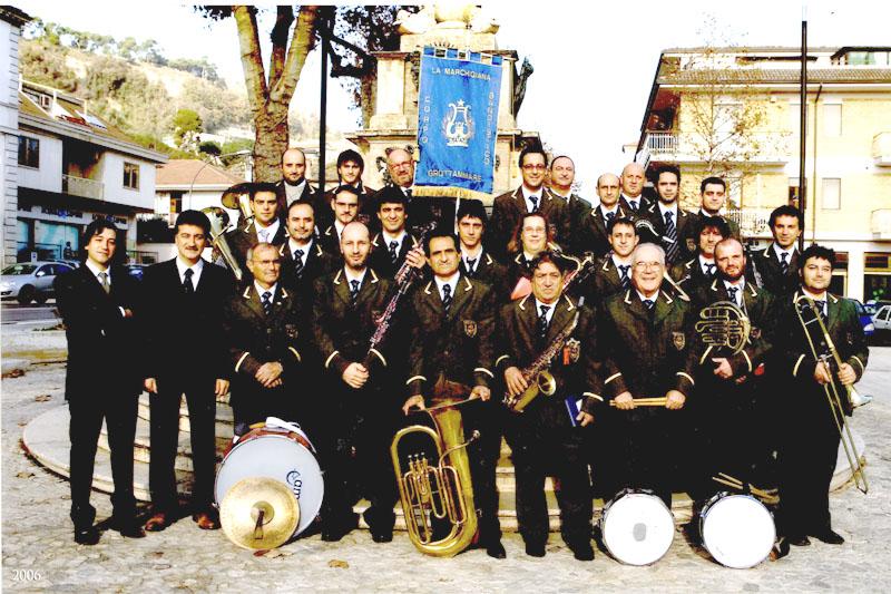 Una delle formazioni più recenti della Banda La marchigiana