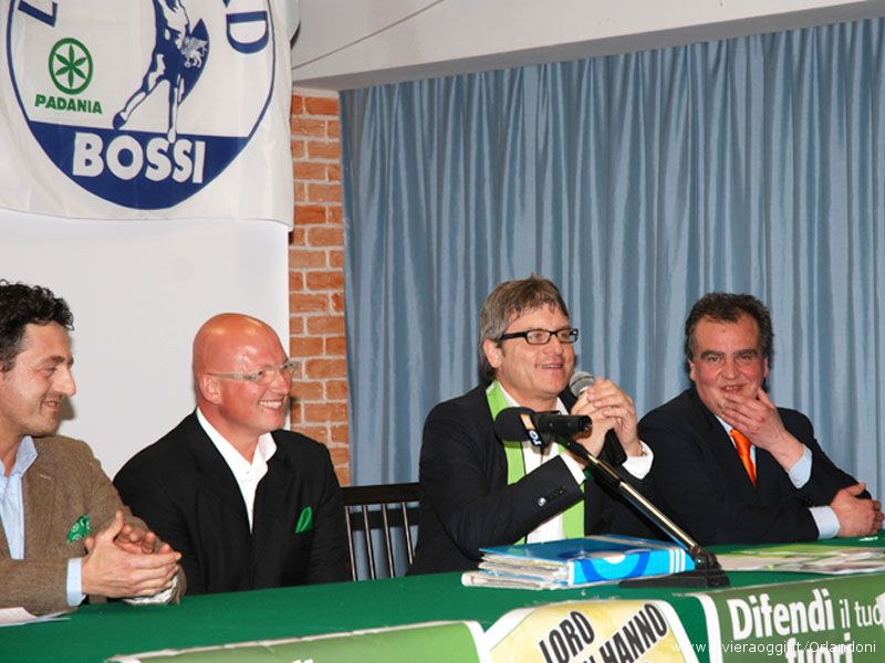 Pietro Infriccioli, Gabriele Fabi, Luca Rodolfo Paolini, Roberto Calderoli
