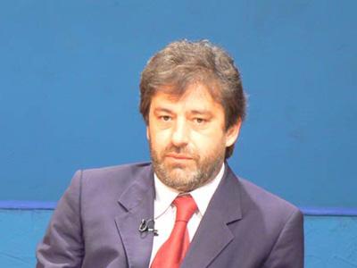 Ernino D'Agostino, presidente della Provincia di Teramo