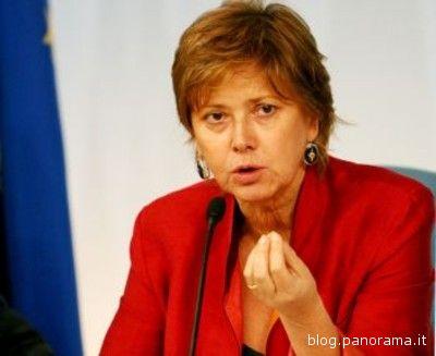 Il Ministro agli Affari Regionali e alle Autonomie Locali Linda Lanzillotta.