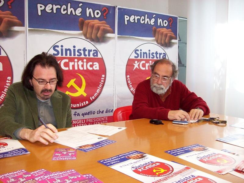 Livio Oddi e Antonio Moscato.