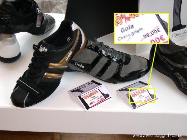 Sneaker della Gola 99 euro prezzo pieno