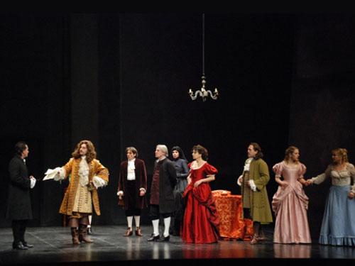 Una scena de Tartufo interpretato da Cecchi
