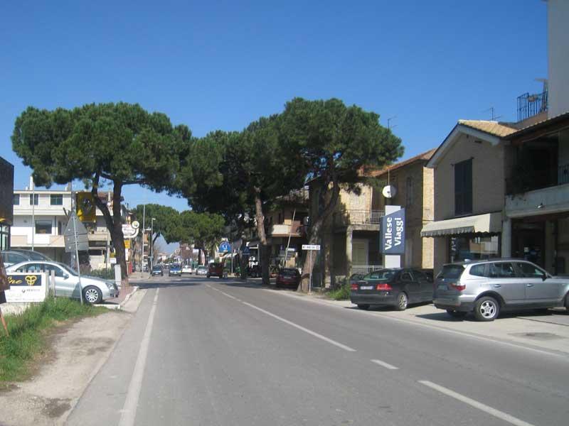 Un tratto di via Roma