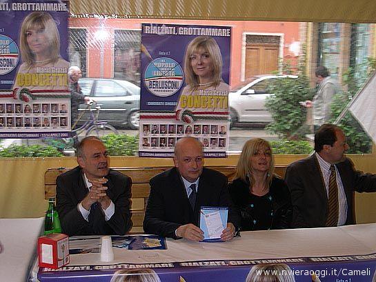 Remigio Ceroni, Sandro Bondi, Maria Grazia Concetti, Vittorio Santori