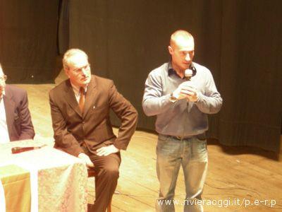L'assessore alla Cultura Remo Bruni con Jury Chechi