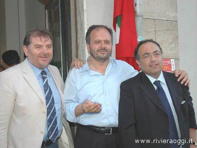 Emidio Mandozzi, Giovanni Gaspari, Luciano Agostini