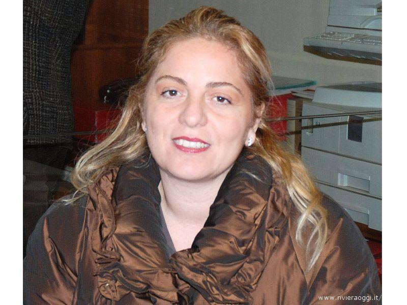 La candidata sindaco per la lista civica Popolo per Grottammare, Aurelia Lisciani