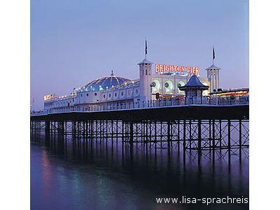 Un'immagine di Brighton, in Inghilterra