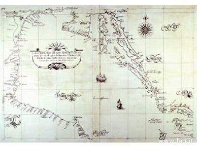 Antiche cartografie del mare Adriatico in mostra all'Istituto Alberghiero dal 18 aprile al 4 maggio