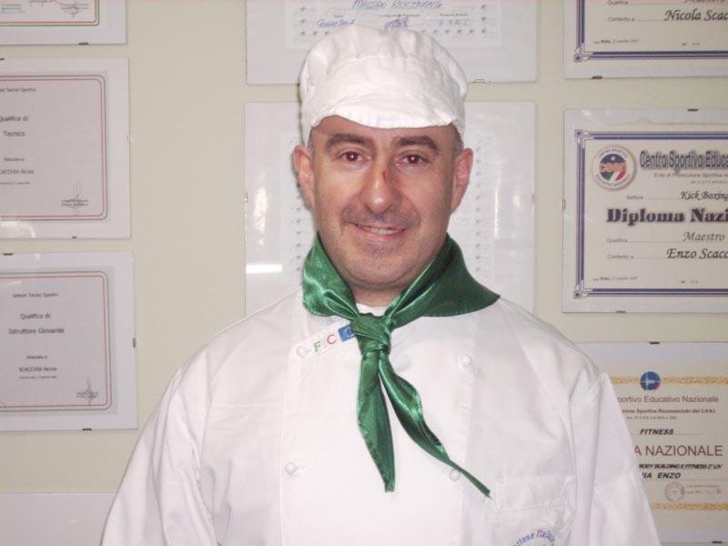 Lo chef teramano Domenico Scocchia