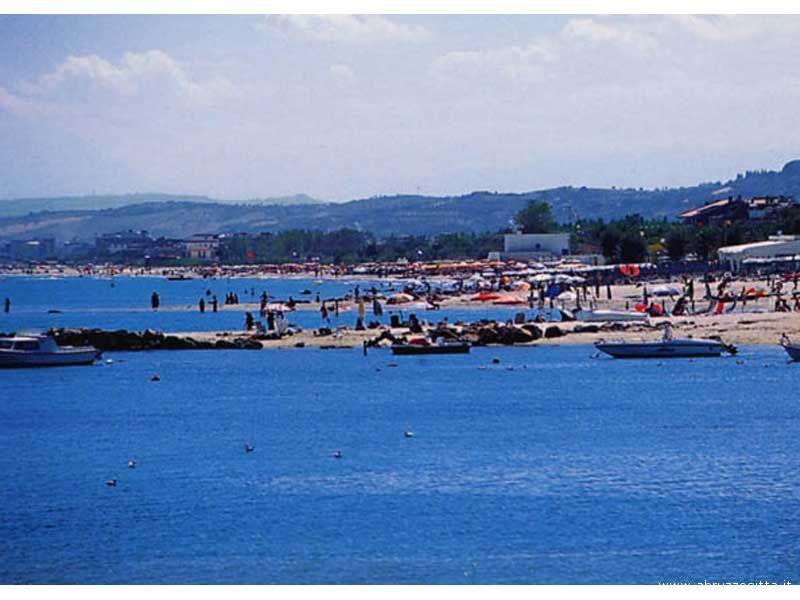 Un tratto di mare a Martinsicuro