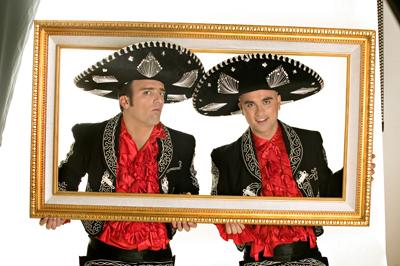 Il duo di comici Pablo & Pedro