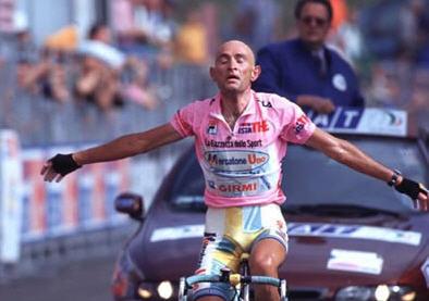 L'indimenticato Marco Pantani