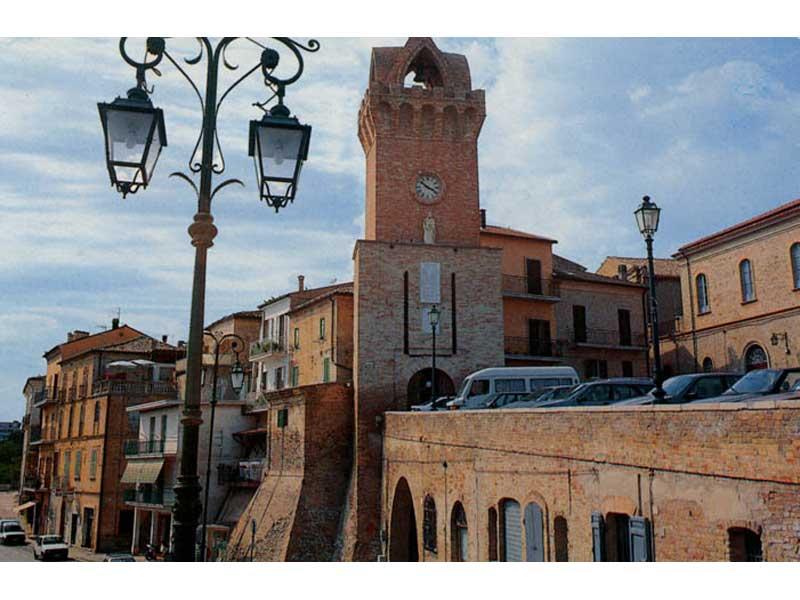 Il centro storico di Tortoreto