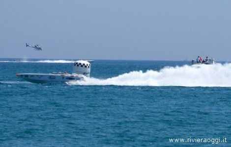 Powerboat P1 a San Benedetto
