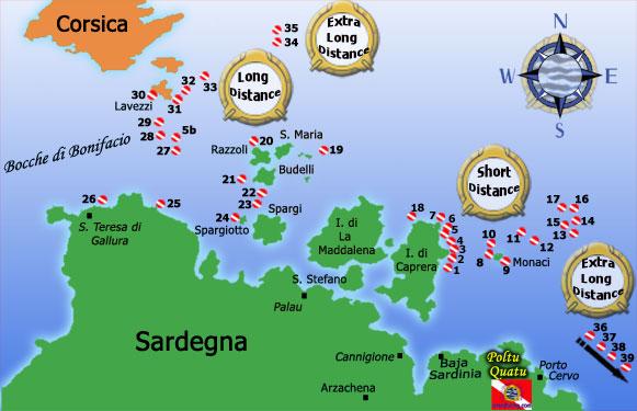 Il Parco Marino della Maddalena in Sardegna