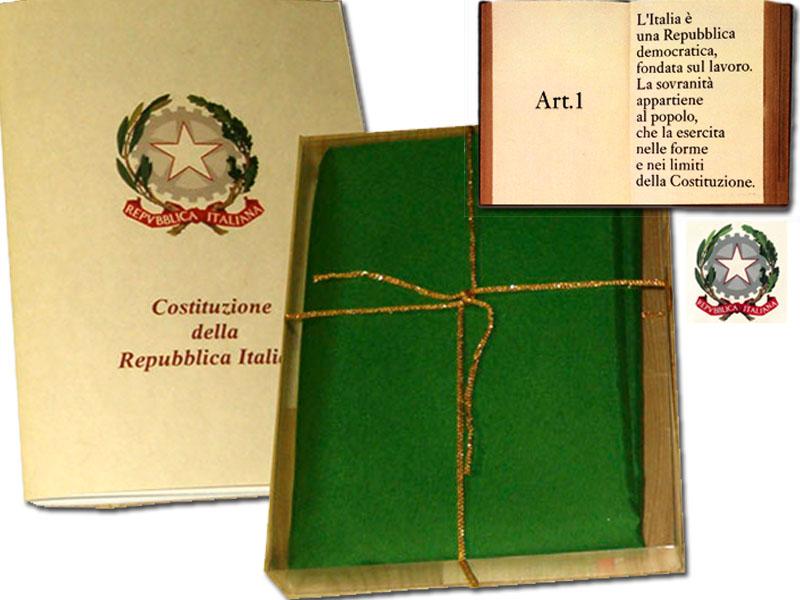 La costituzione italiana compie 60 anni