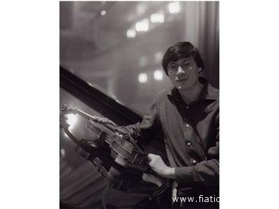 Il violinista Marco Rogliano