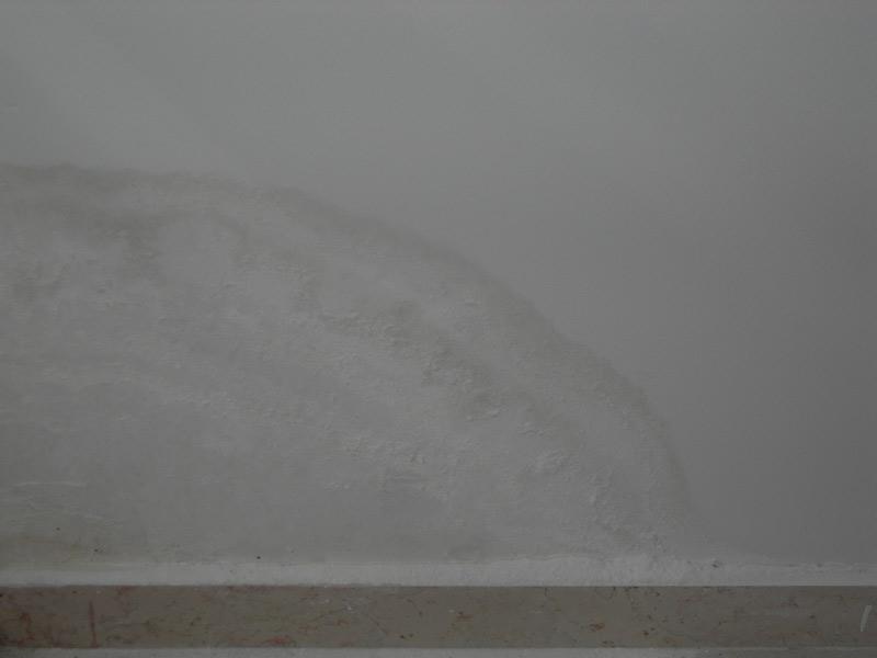 Umidità ascendente su un muro