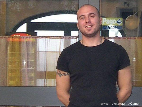 Fabio, uno dei titolari dello chalet