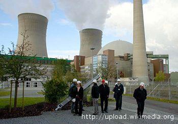 La centrale nucleare di Krsko, in Slovenia