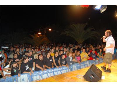 Un momento dell'edizione 2007 del Maremoto Festival