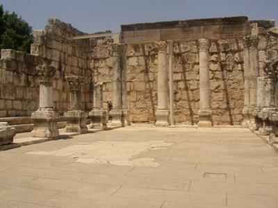 Una sinagona di Cafarnao