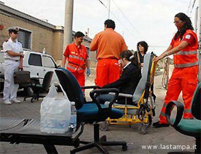 I soccorsi prestati ai feriti