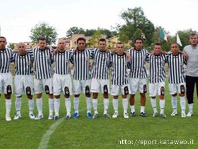 Una formazione dell'Ascoli Calcio