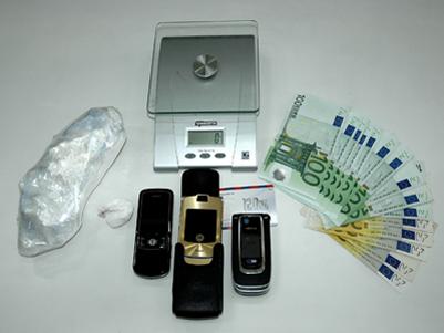 Mezzo chilo di cocaina e duemila euro in contanti sequestrati