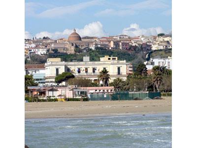 Una veduta di Giulianova
