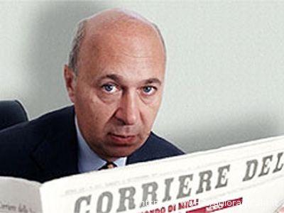 Paolo Mieli, direttore del Corriere della Sera
