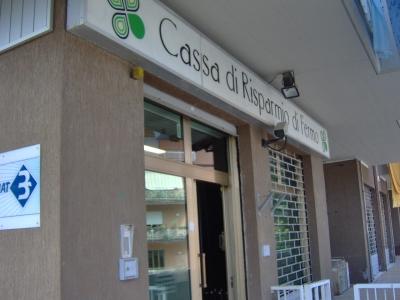 La sede Carifermo di Cupra