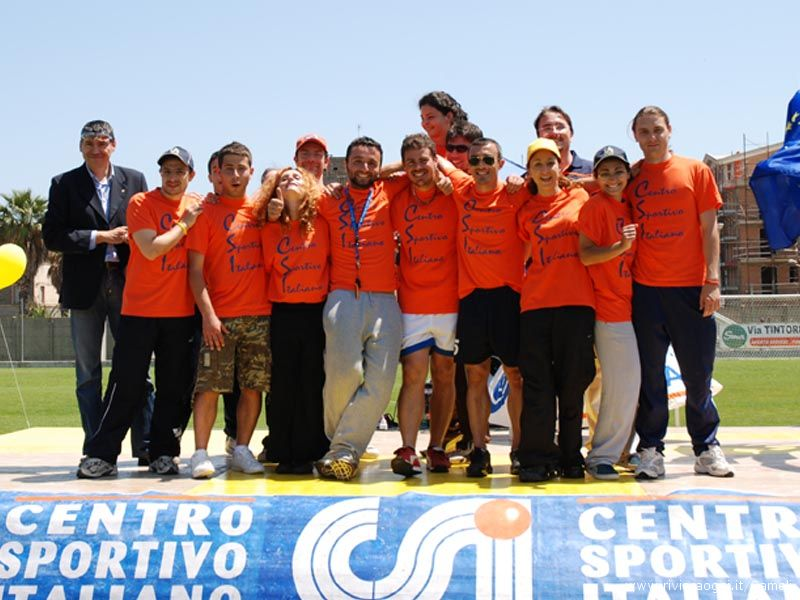 Lo staff del Centro Sportivo Italiano